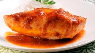 Pollo En Salsa De Tamarindo Y Chipotle - Chicken In Tamarind And Chipotle Sauce