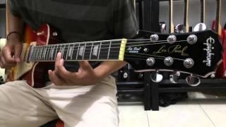 Langgam campursari ngidam sari-tes gitar epiphone les Paul Custom