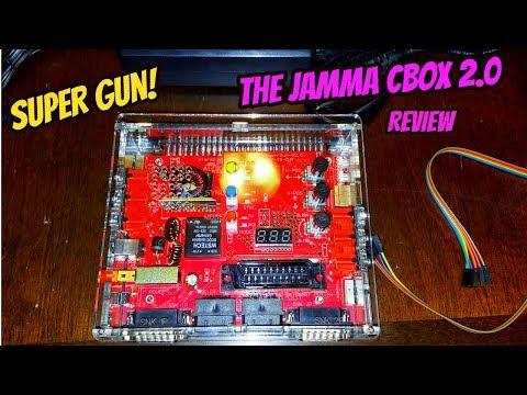 The JAMMA CBOX Super Gun 2.0 Review (Arcade Board Player)