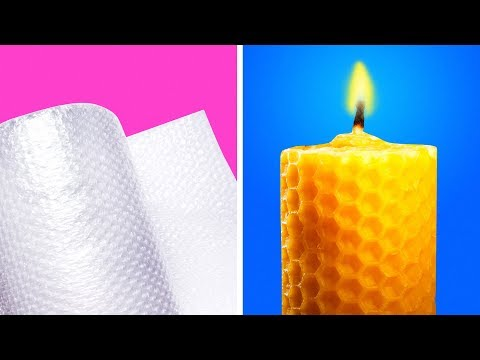 29 COOL HACKS WITH CANDLES AND CRAYONS