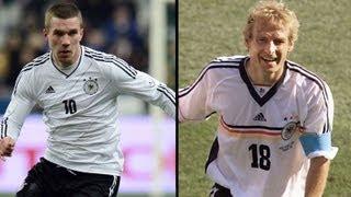 108. Länderspiel: Podolski zieht mit Klinsmann gleich