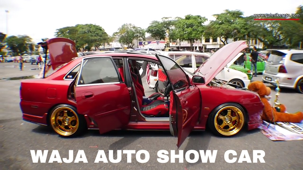 Proton Waja Auto show Modified Interior and Exterior | Gathering Geng  Sunroof GAGES 2016