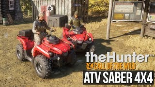ATV 4X4'ler ile theHunter: Call of the Wild Multiplayer