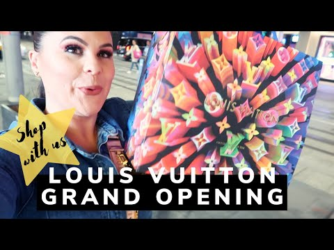 🤑🤑🤑SHOP WITH US AT THE LOUIS VUITTON GRAND OPENING | Jerusha Couture