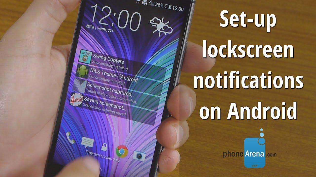 Setup iPhone-like lockscreen notifications on Android