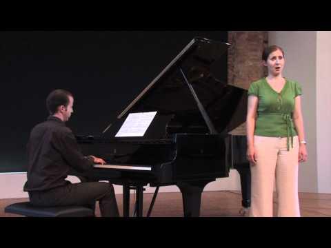 Richard Strauss · Ach Lieb', ich muss nun scheiden (1) (Demo)