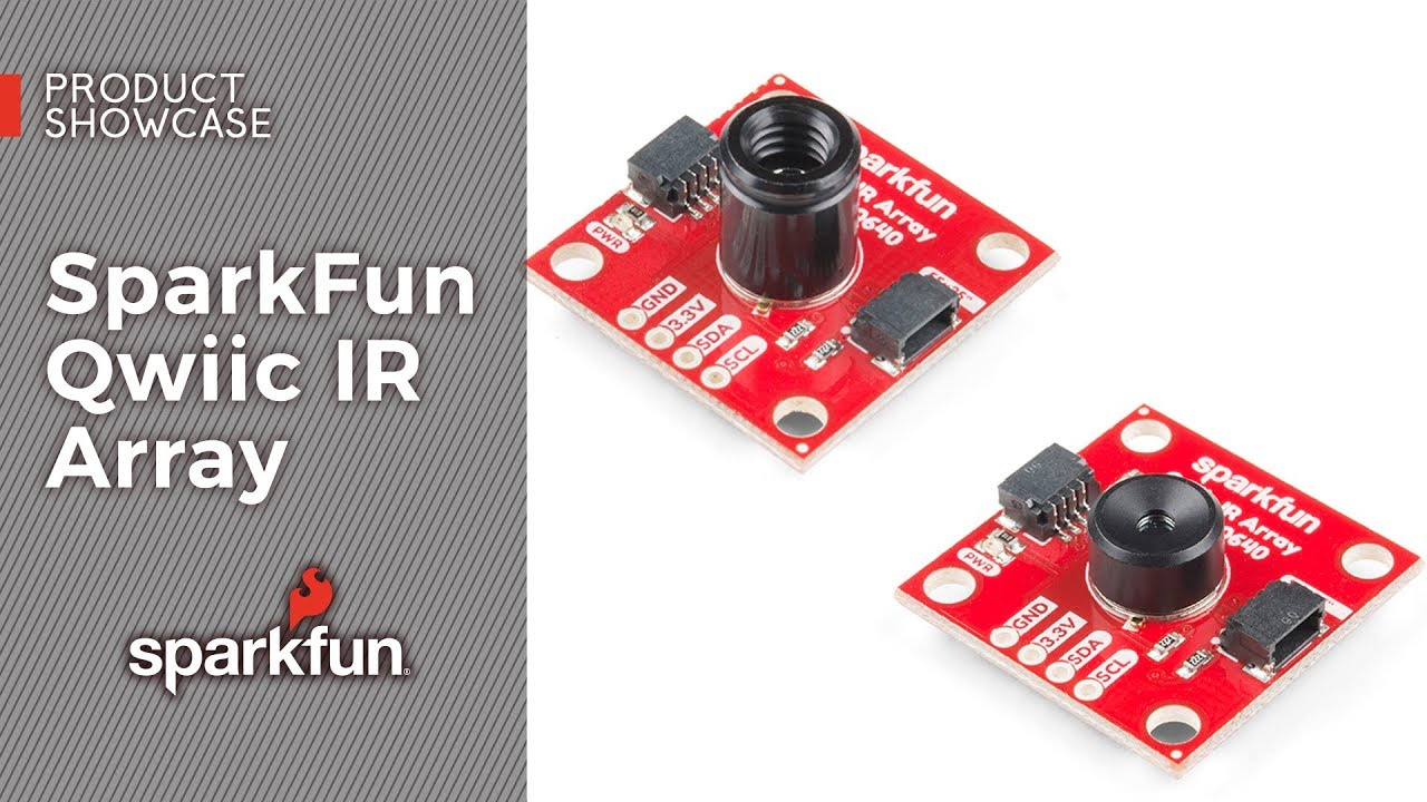 SparkFun IR Array Breakout - 110 Degree FOV, MLX90640 (Qwiic