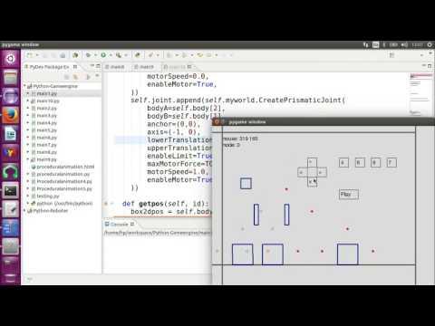 Randomized algorithm for procedural animation