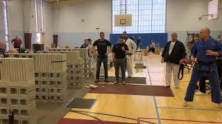 Master Serrano- 1st place- Concrete Sidekick- 2019 Mass State Breaking Championships