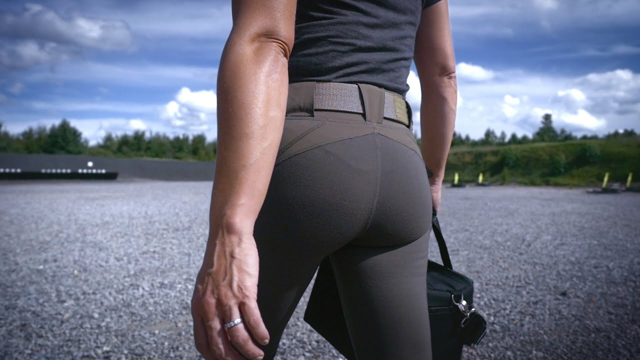 Tactical Yoga Pants - Raven Range Tight & Capri - YouTube
