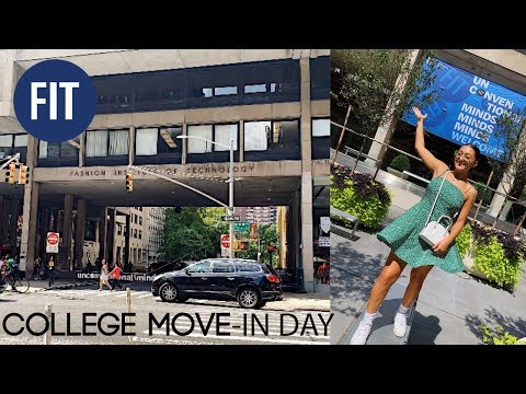 College Move-In Day at The Fashion Institute of Technology 2019