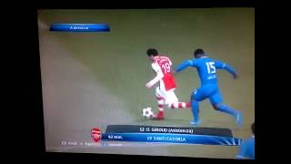 PES 2015 PC - Arsenal vs PSV - Champions League