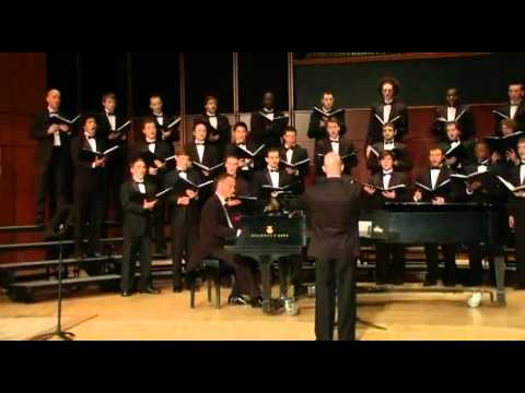 "GSU Men's Choir sings ""The Awakening"" - Joseph M. Martin"