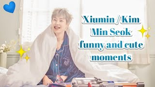 Xiumin / Kim Min Seok funny and cute moments