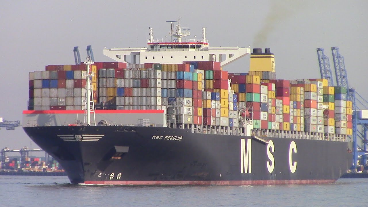 Very Large Container Ship Msc Regulus
