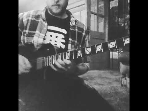Adam Carroll (WARBRINGER) - When the Guns Fell Silent Outro Solo Guitar Playthrough
