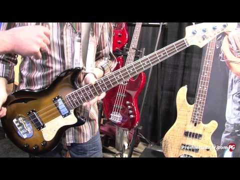 NAMM '13 - Lakland Skyline Hollowbody 30 Demo and 55-01/44-01 Deluxe Top