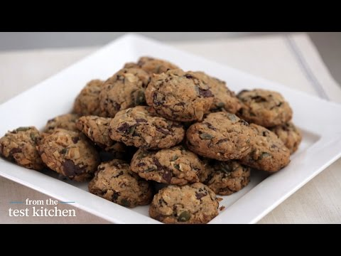 Chocolate-Granola Drop Cookies - From the Test Kitchen