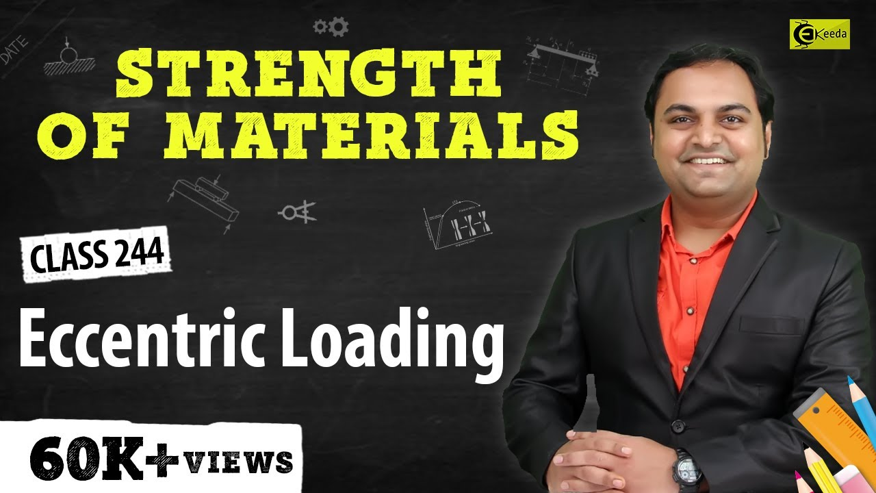 Eccentric Loading - Theories of Elastic Failure - Strength of ...
