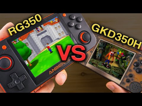 What Retro Handheld Is The Best Retro Game 350 Vs Game