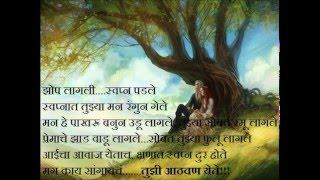 Marathi Kavita-Tuzi Athvan Yete