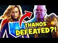 CAPTAIN MARVEL & Thanos Infinity Stone AVENGERS ENDGAME Theory