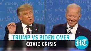 US Presidential Debate 2020: Trump-Biden faceoff over Covid-19 turns nasty