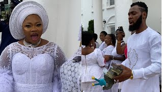 Rev Obofuor & Wife Bofowaa Display Real Cash And Riches At Naming Ceremony For Their Triplets