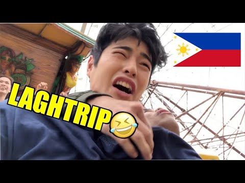 FUMIYAM TRIES PIRATE SHIP RIDE&FERRIS WEEL!!(Sobrang takot ako😭)