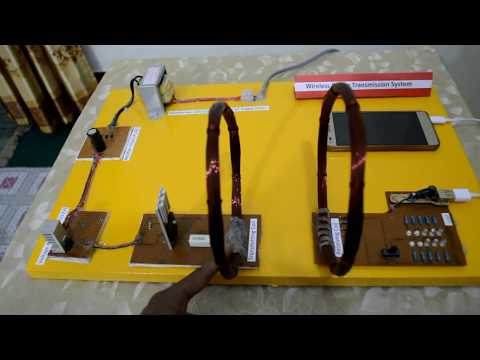 How to Wireless Power Transmission System work? Self Made Project/Electrical Technology 2019
