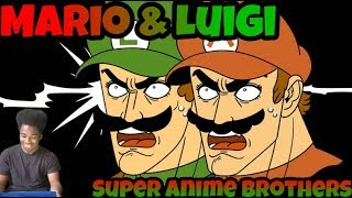 It was his plan all along😱‼️ | Mario & Luigi: Super Anime Brothers | REACTION!!!