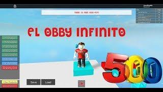 ROBLOX: EL OBBY INTERMINABLE | 500 NIVELES Y NO SE ACABA