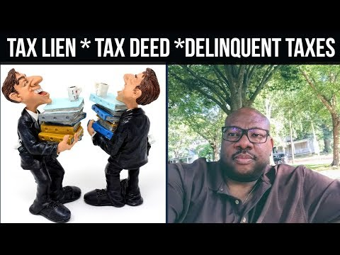 Tax Deed Auction ✔️ Tax Lien Auction ✔️ Delinquent Property Taxes