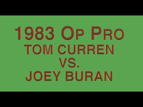 1983 Op Pro Huntington Beach - Tom Curren VS. Joey Buran