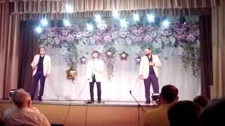 ТриО Семёнов,  Дыбка, Поздняков - поздравление ФАМИТ ДГМА с юбилеем