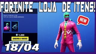Fortnite Shop-Today's store 18/04/2019 * NEW * Skin