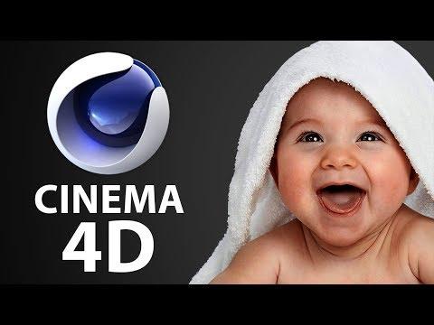 Введение в Cinema 4D для начинающих за 20 минут - C4D 010