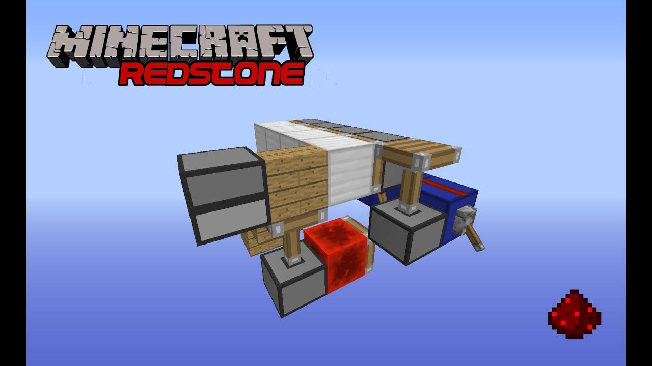 Versteckte Treppe Minecraft Redstone Tutorial