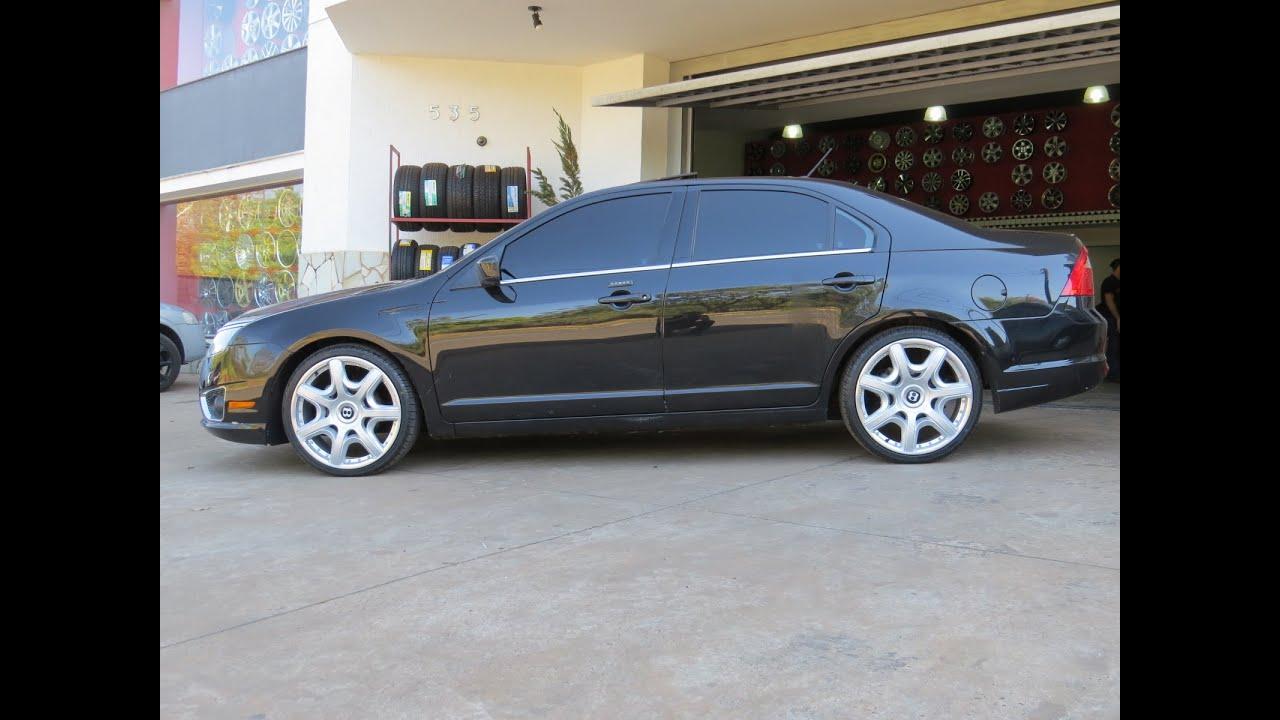 Fusion rodas bentley aro 20 pneus 225 35 20