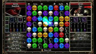 Puzzle Quest 2 - NDS - XBLA - Gameplay