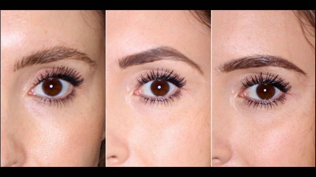 How To Shape And Style Your Eyebrows At Home Youtube
