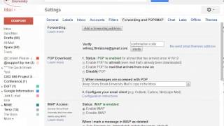 Setting Up Google Apps Mail Forwarding