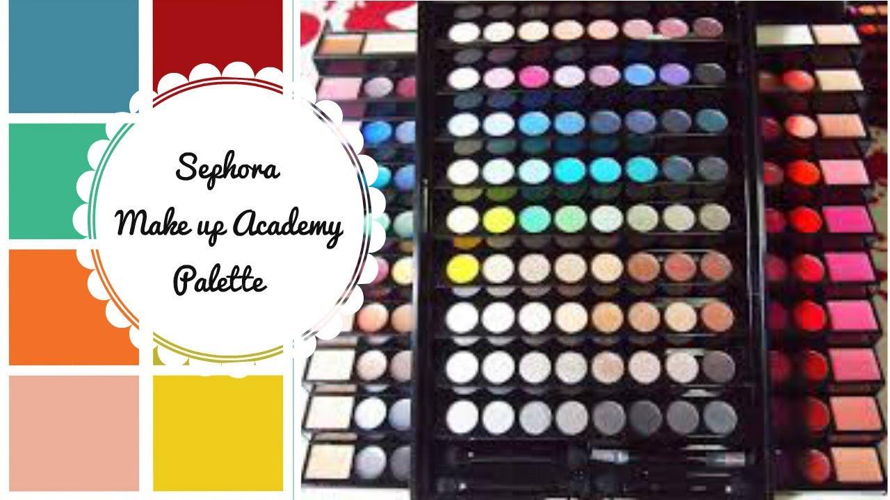 sephora makeup academy palette. review - sephora make up academy palette ♡ makeup