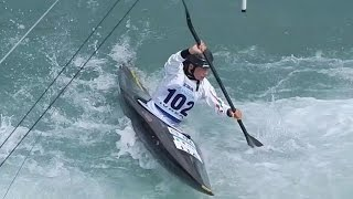 Semifinale K1 Kayak women international - ICF World Ranking Slalom Ivrea 2014