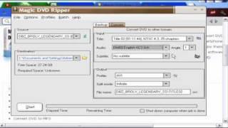 Tutorial:  Magic DVD Ripper