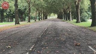 An abandoned road in 's-Hertogenbosch (NL)