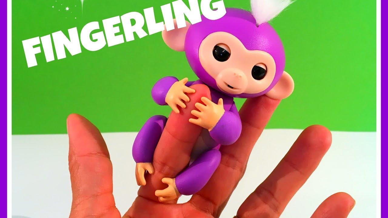 Unboxing En Review Fingerling Aapje Nederlands Youtube