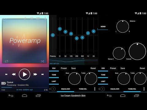 Poweramp el mejor reproductor de sonido para tu android best app