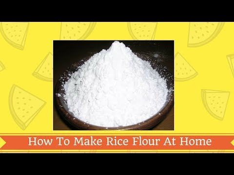 how-to-make-rice-flour-at-home