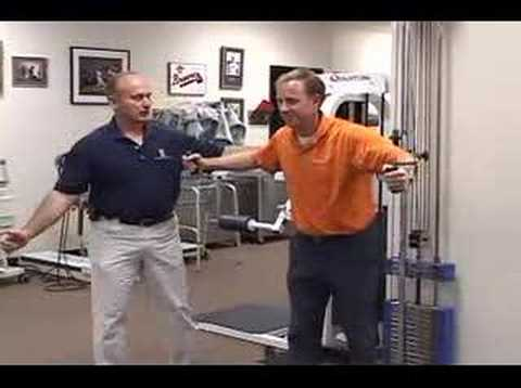 Golf Fitness Instruction – Shoulder Exercise Training and Tips